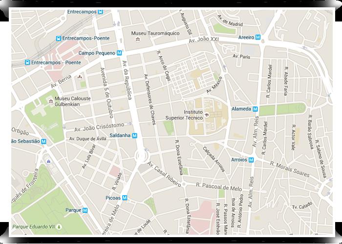 avenidas novas lisboa mapa Lisbon's neighborhoods | Avenidas Novas avenidas novas lisboa mapa